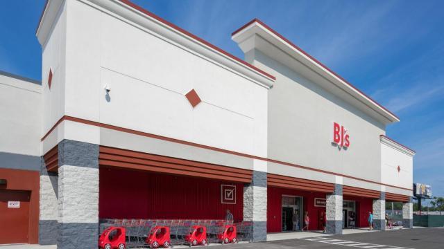 BJ's Wholesale Club Store Front (photo courtesy BJ's)