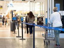 Line at Walmart Store