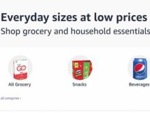 Amazon Pantry grocery and household essentials