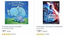 IMAGES: Get 3 kids books and movies for the price of 2 at Amazon