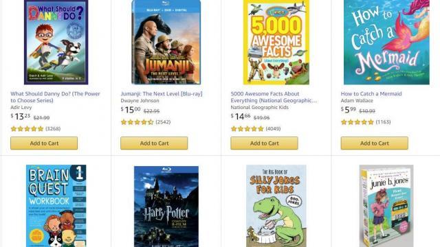 Amazon Book and Movie Promotion (photo courtesy Amazon)