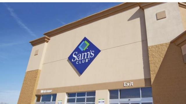 Sam's Club (photo courtesy Groupon)