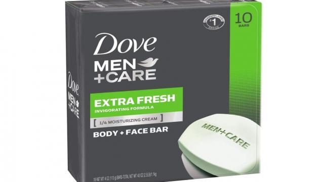 Dove Men+Care Body and Face Bar (photo courtesy Amazon)