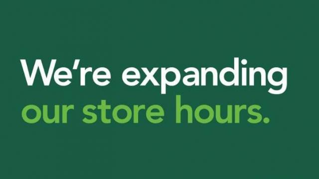 Publix Announcement (photo credit Publix)
