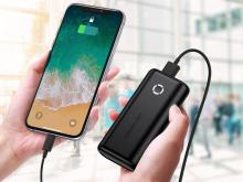 Compact 10000 mAh Portable Charger