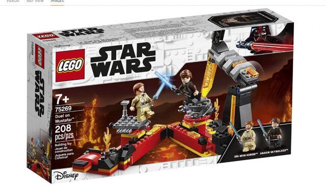 LEGO Star Wars Revenge of the Sith Duel on Mustafar Building Kit (photo courtesy Amazon)