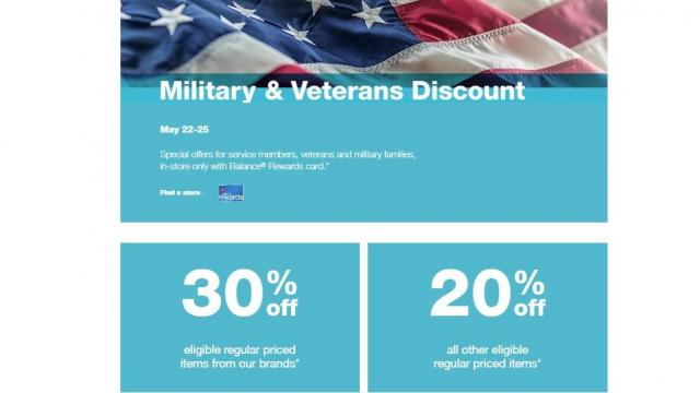 Walgreens Military Discount (photo courtesy Walgreens)