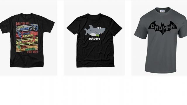 Father's Day Shirts (photo courtesy Amazon)