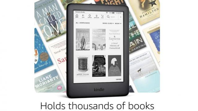 All-new Kindle with Built-in Front Light (photo courtesy Amazon)