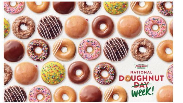 Krispy Kreme National Doughnut Week Offer