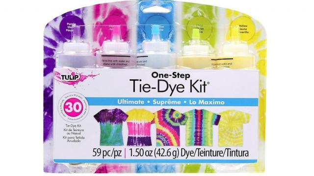 Tulip One-Step 5 Color Tie-Dye Kit (photo courtesy Amazon)
