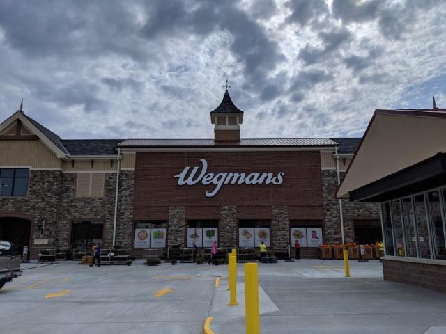 Wegmans store in Raleigh, NC (photo credit: Faye Prosser)