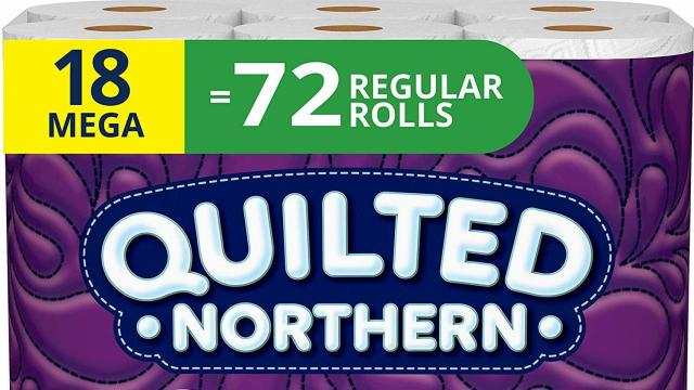 Quilted Northern bath tissue (photo courtesy Amazon)