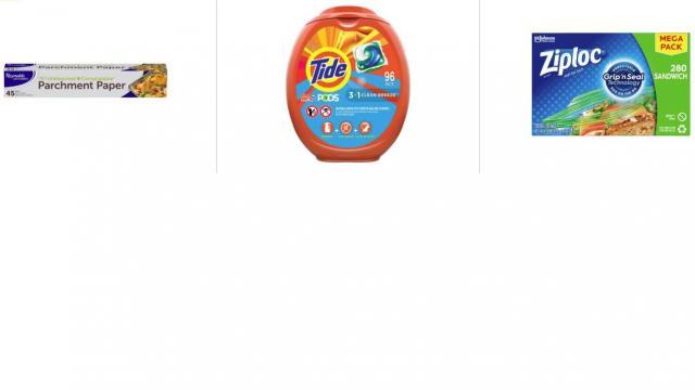 Amazon Household Products Promotion (photo courtesy Amazon)