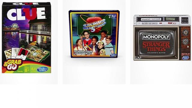 Hasbro Games Sale (photo courtesy Amazon)