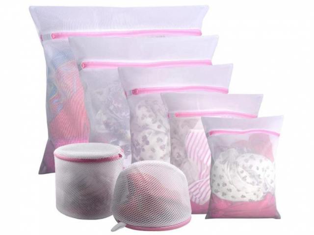 Mesh Laundry Bags 7 Piece Set (photo courtesy Amazon)