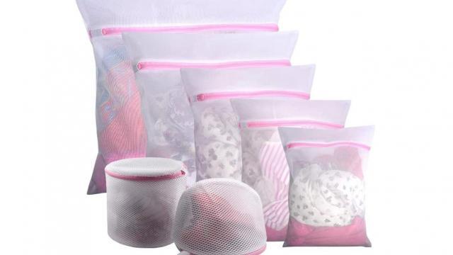 Mesh Laundry Bags 7 Piece Set