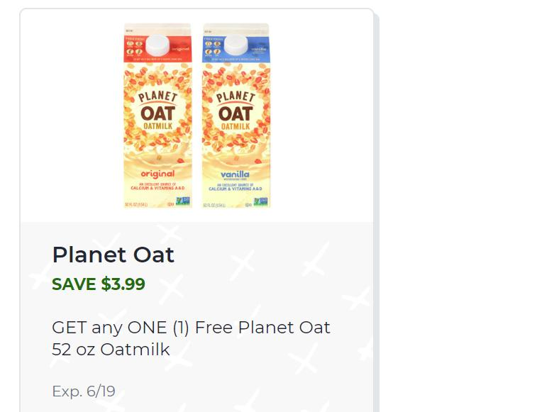 Free Planet Oat Oatmilk From Publix Wral Com