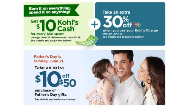 Kohl's Sale and Offers (photo courtesy Kohl's)