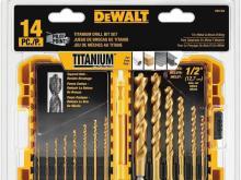 DEWALT Drill Bit Set Titanium14-Piece