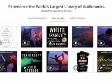 Audible Books (photo courtesy Amazon)
