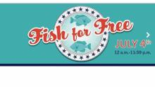IMAGES: Free Fishing Day in North Carolina on July 4