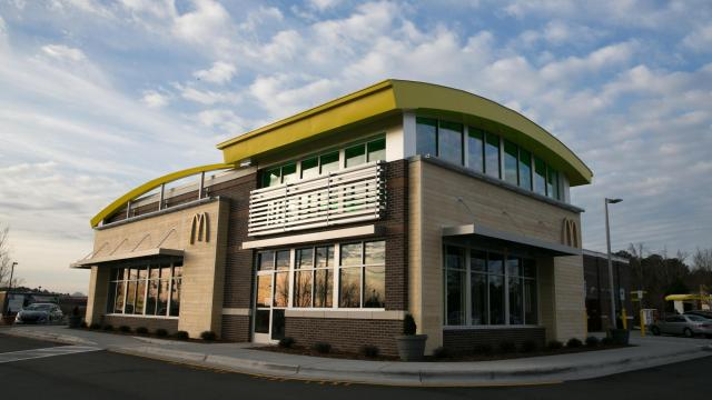 McDonalds Cary, NC (photo courtesy McDonald's)