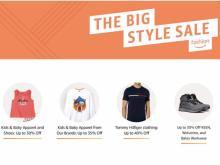 Amazon Big Style Sale (photo courtesy Amazon)