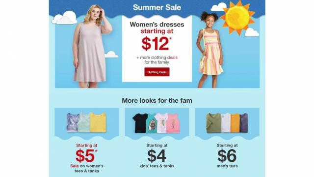 Target Sales (photo courtesy Target)