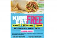 IMAGE: Tijuana Flats: Kids eat free Monday, Wed. & Friday with entree purchase
