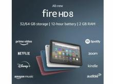 All-new Fire HD 8 tablet with 32 GB (photo courtesy Amazon)