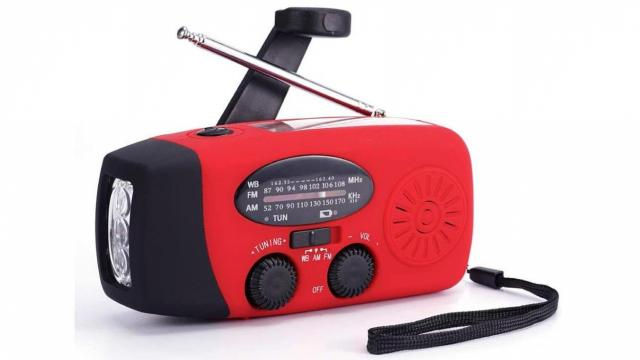 Emergency Solar Hand Crank Weather Radio