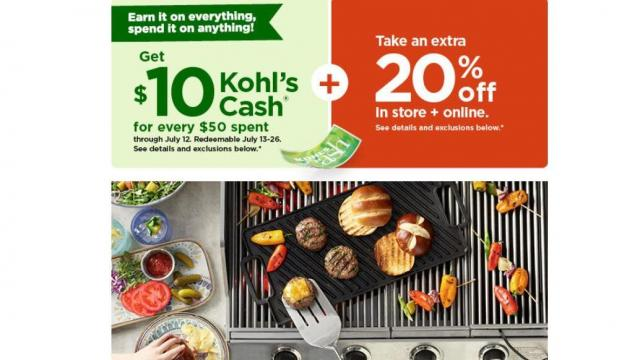 Kohl's Sale (photo courtesy Kohl's)