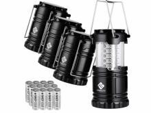 Etekcity Outdoor LED Lanterns 4-pack Set (photo courtesy Amazon)