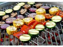 Grilled vegetables (photo courtesy Food Bank of Central & Eastern North Carolina)