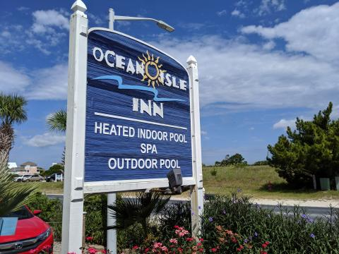 Ocean Isle Inn Sign