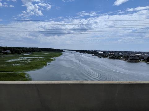 Intercoastal Waterway from Road