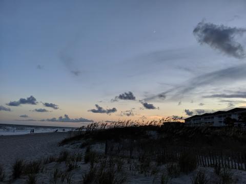 Ocean Isle Beach Sunset, NC