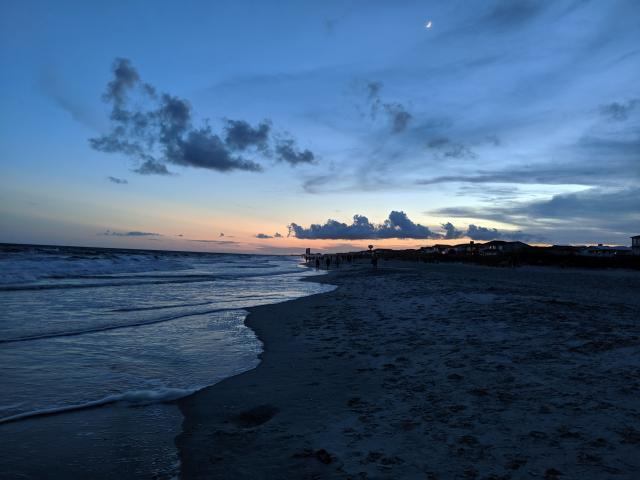 Ocean Isle Beach Sunset, July 2020
