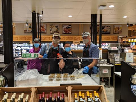 Cheese Department and their fun employees!