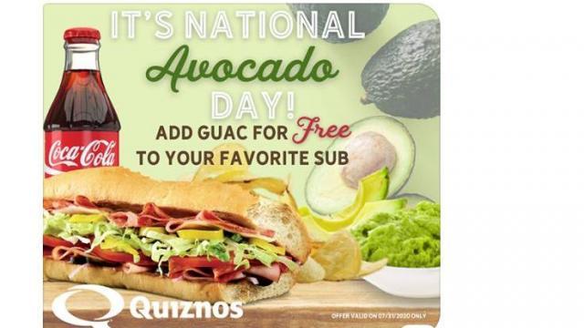 Quiznos Offer (photo courtesy Quiznos)