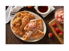 Metro Diner's Fried Chicken & Waffles (photo courtesy Metro Diner)