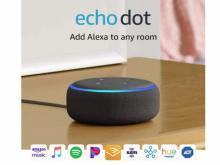 Echo Dot 3rd Gen Smart speaker with Alexa (photo courtesy Amazon)
