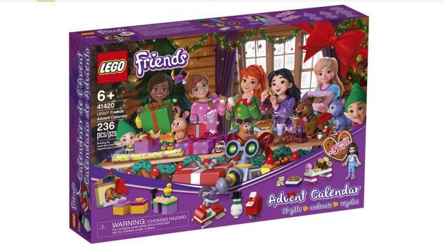 LEGO Friends Advent Calendar (photo courtesy Amazon)