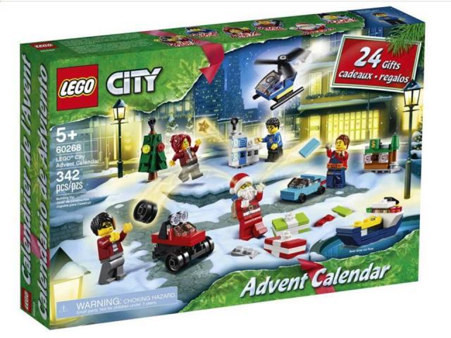 LEGO City Advent Calendar (photo courtesy Amazon)