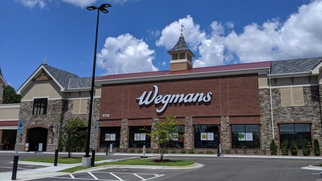 Wegmans in West Cary, NC (photo credit Faye Prosser)
