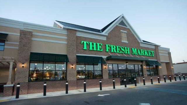 The Fresh Market Store Front, Columbia, SC (photo courtesy The Fresh Market)