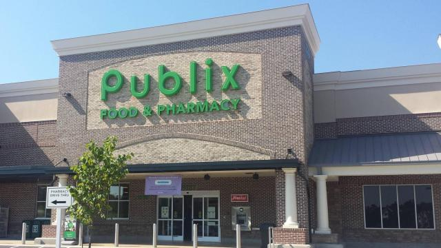 Publix Store Front Wake Forest, NC  (photo credit: Faye Prosser)