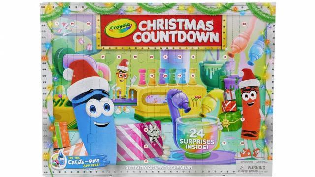 Crayola Christmas Countdown Calendar (photo courtesy Amazon)