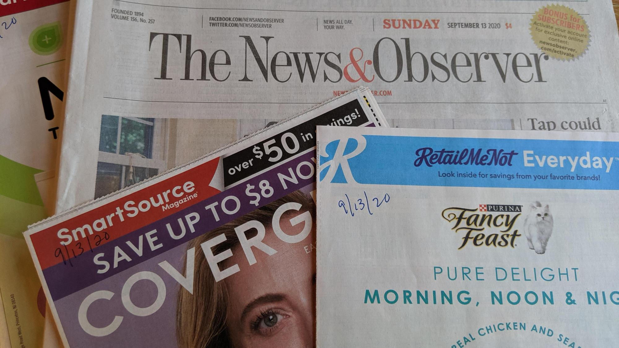 News Observer Sunday Subscription Deal Only 85 Cents Per Week Wral Com